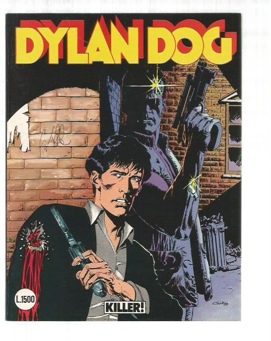 Dylan Dog n. 12 Killer! - Firmato Claudio Villa