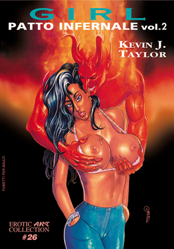 Erotic Art Collection 26 - Girl Patto Infernale 2