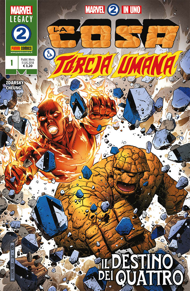 Marvel 2-in-1 1 Fantastici Quattro 381