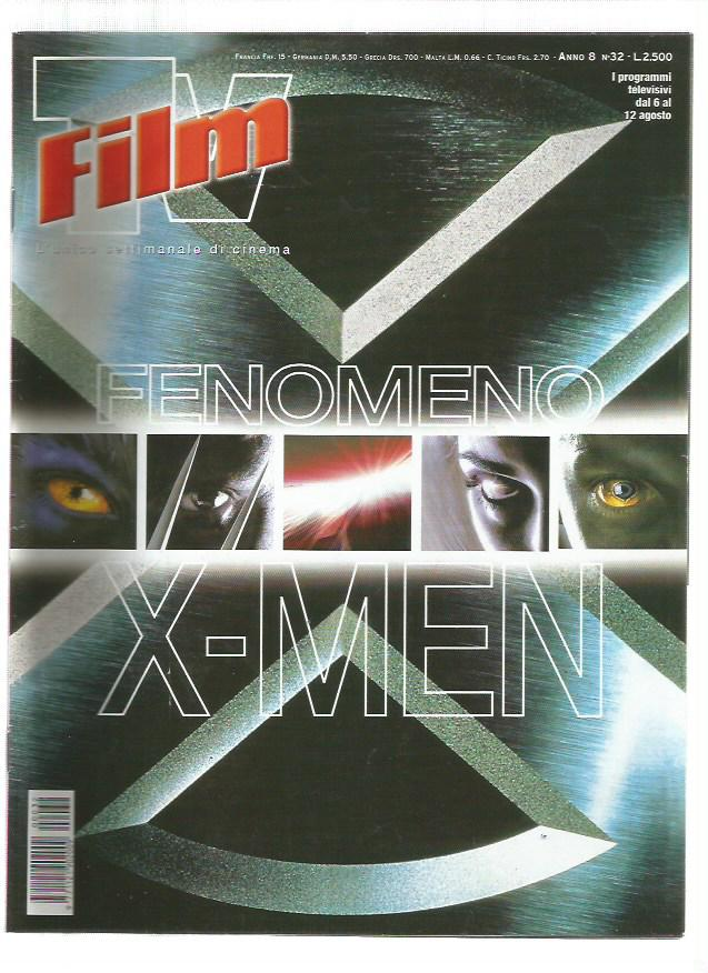 Film TV n. 32 – 2000 – X-Men il Film