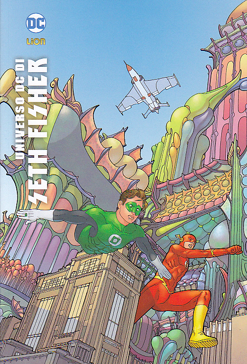 Flash/Lanterna verde Universo DC di Seth Fisher
