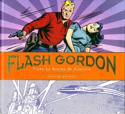Flash Gordon Tavole Giornal. 2 Tigra La Regina Di Forestia