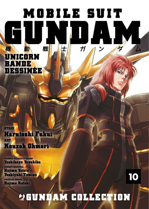 Mobile Suit Gundam Unicorn Bande Dessinee 10