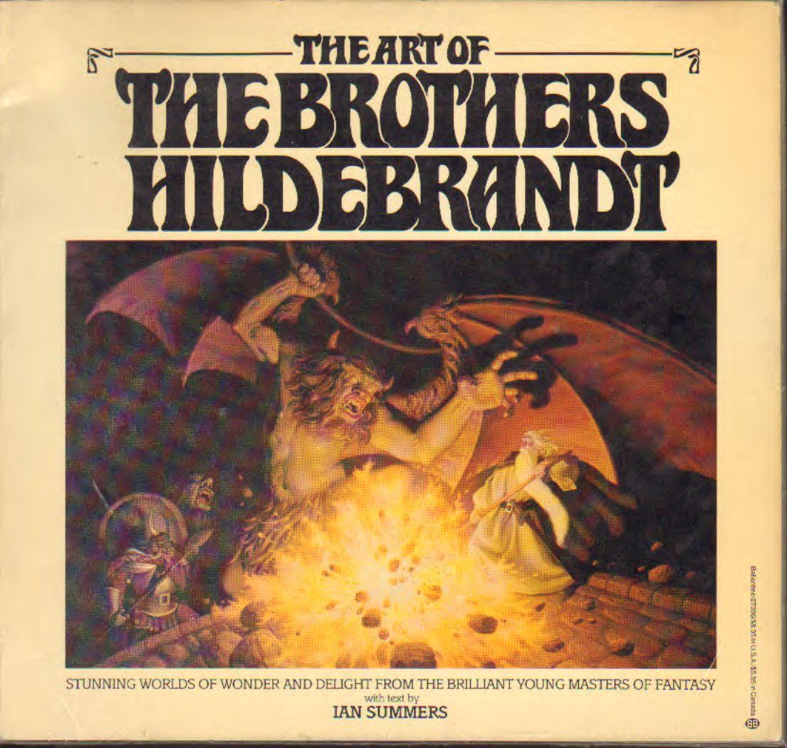 Hildebrandt - the art of Brother Hildebrandt