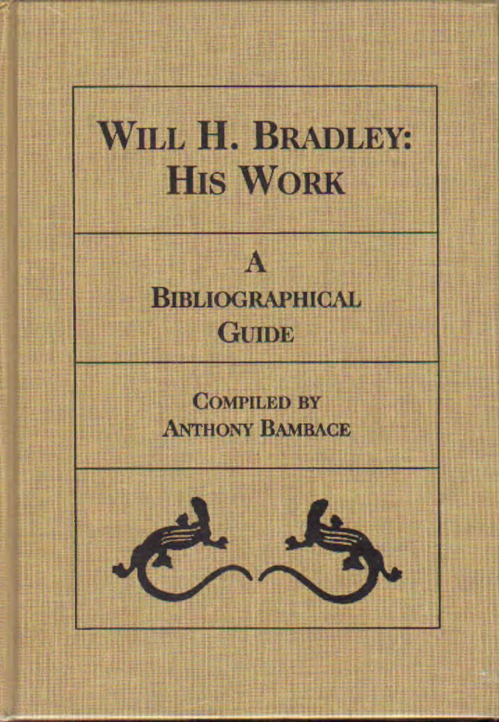 Bradley - Will H. Bradley: His work