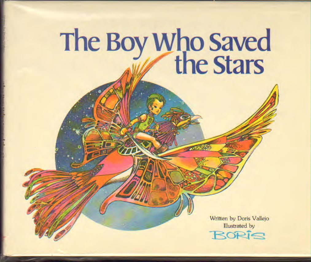 Boris Vallejo - Boy who saved the stars