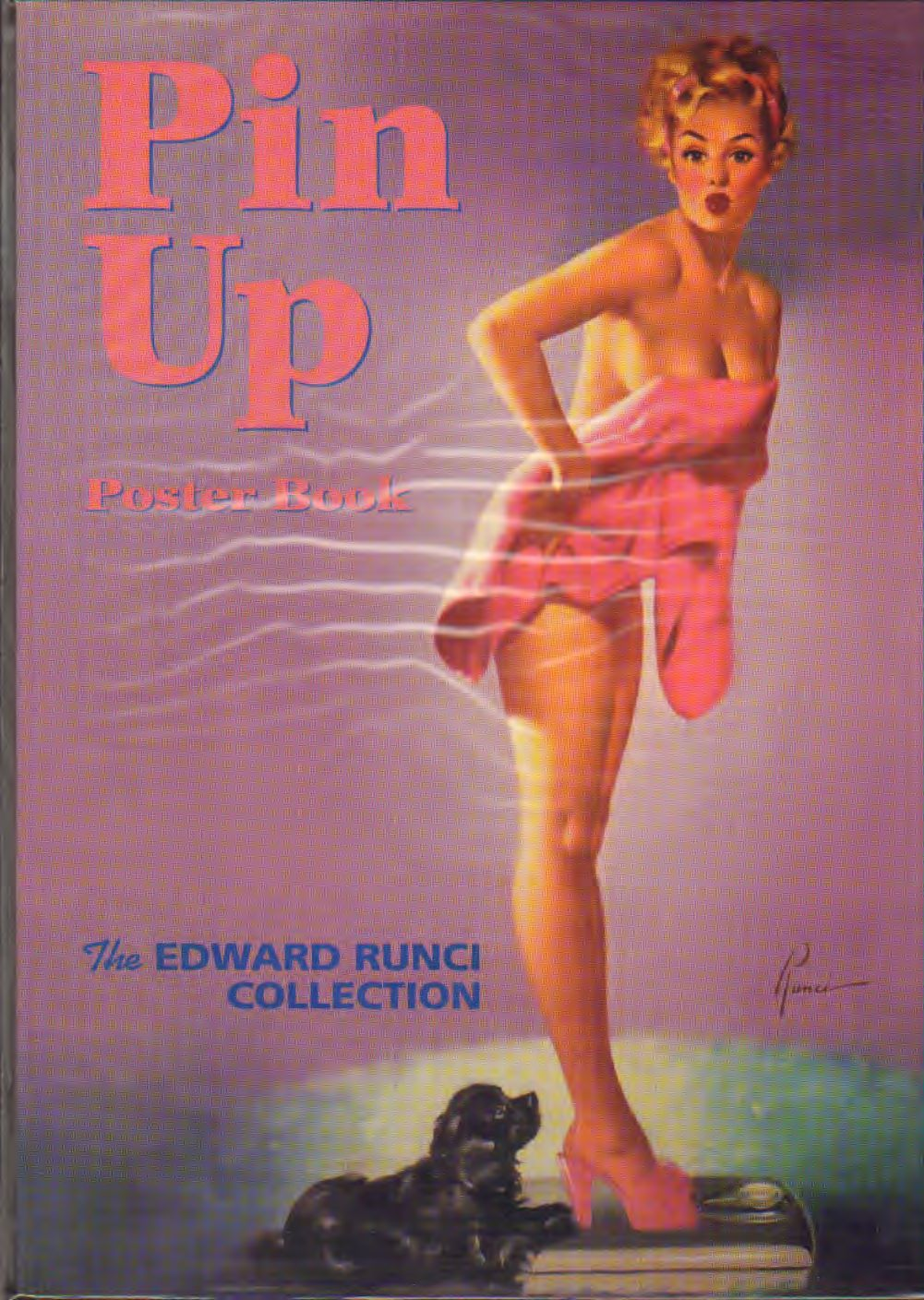 Edward Runci - Pin up poster book the Edward Runci collection