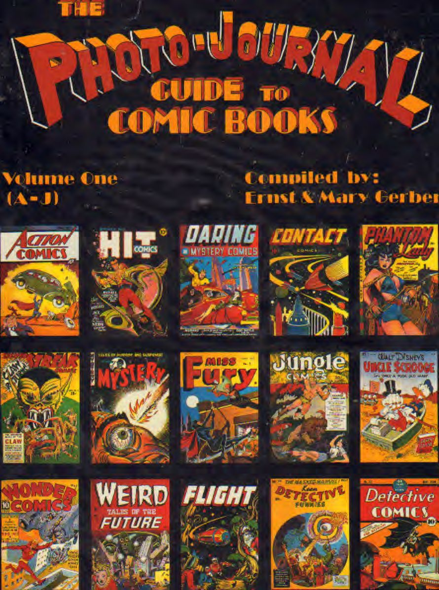 Gerber - Photo-Journal Guide to Comic Books vol.1/2 Serie Comple