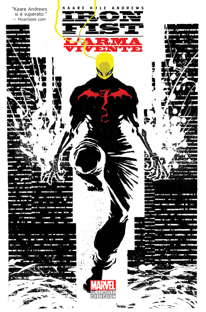 Iron Fist: L'Arma Vivente Marvel Super Sized Collection