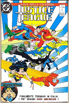JUSTICE LEAGUE 1-35 SERIE COMPLETA