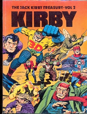 JACK KIRBY TREASURY VOL.2 KIRBY