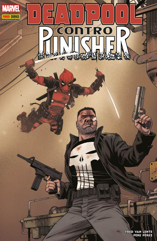 Deadpool contro Punisher Marvel Icon 37
