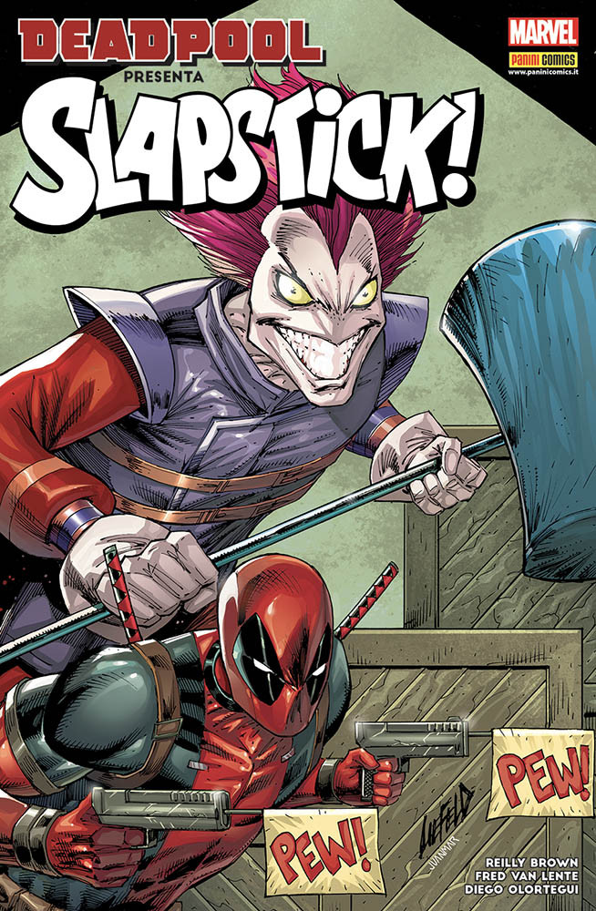 Deadpool presenta: Slapstick Marvel Icon 38