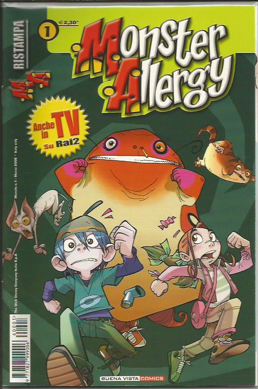 Monster allergy ristampa 1