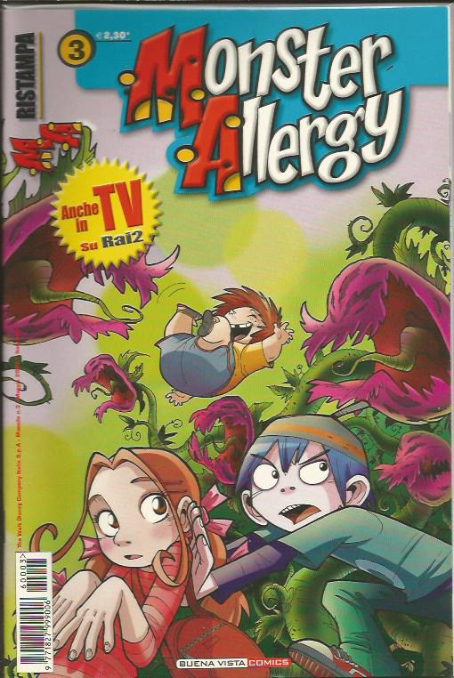 Monster allergy ristampa 3