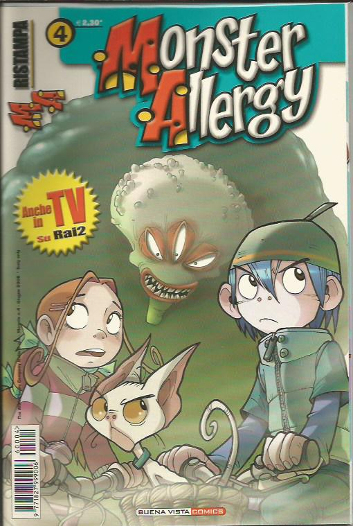 Monster allergy ristampa 4
