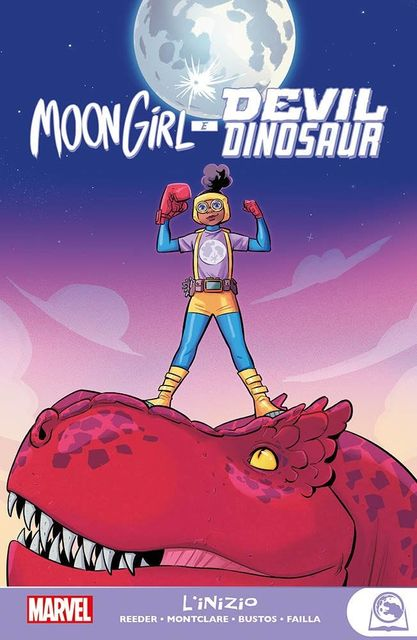 Moon Girl e Devil Dinosaur