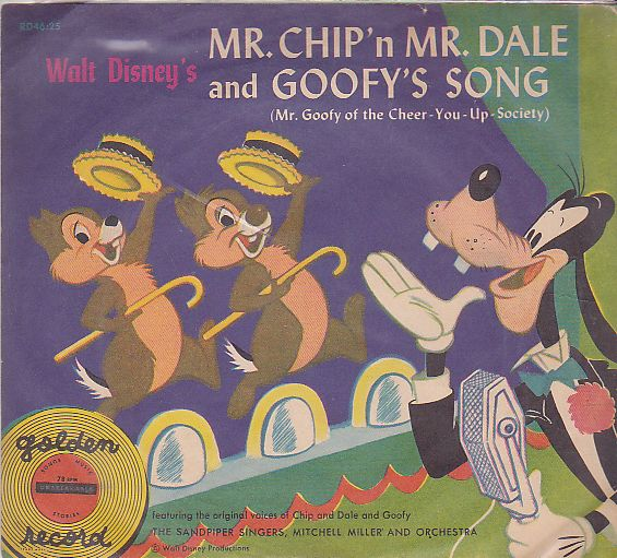 Mr Chip'n Mr Dale and Goofy's song