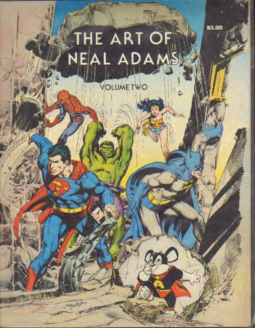 Adams - The art of Neal Adams volume 2