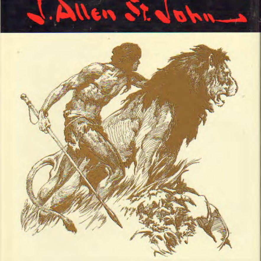 J. Allen St. John - Grand Master of adventure – the drawings of