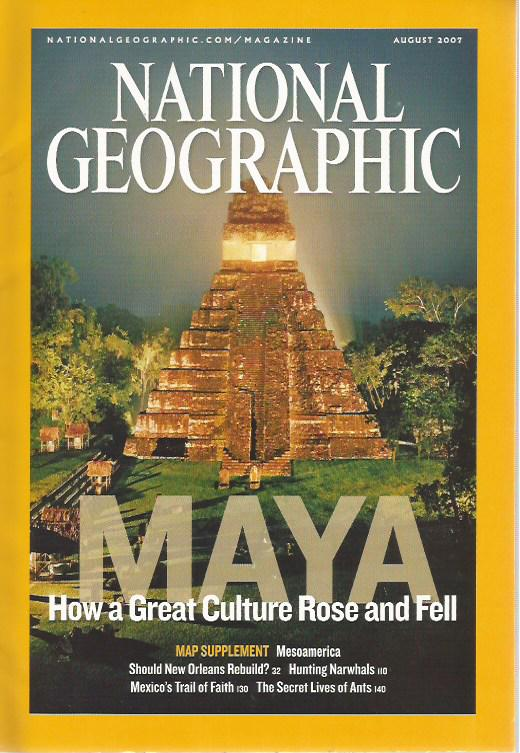 National Geographic - 2007 - n. 8 august