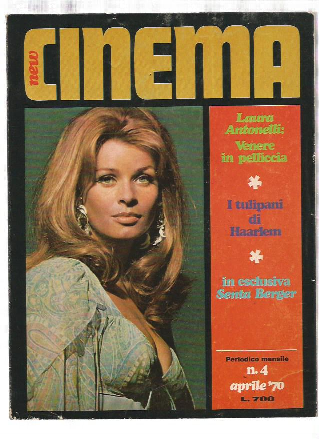 New Cinema 1970 n. 4 - Laura Antonelli, Senta Berger