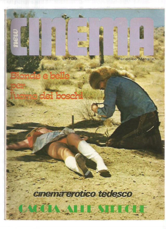 New Cinema 1970 n. 8 - Veruschka
