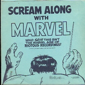 Scream Along With Marvel – Flexi Disc