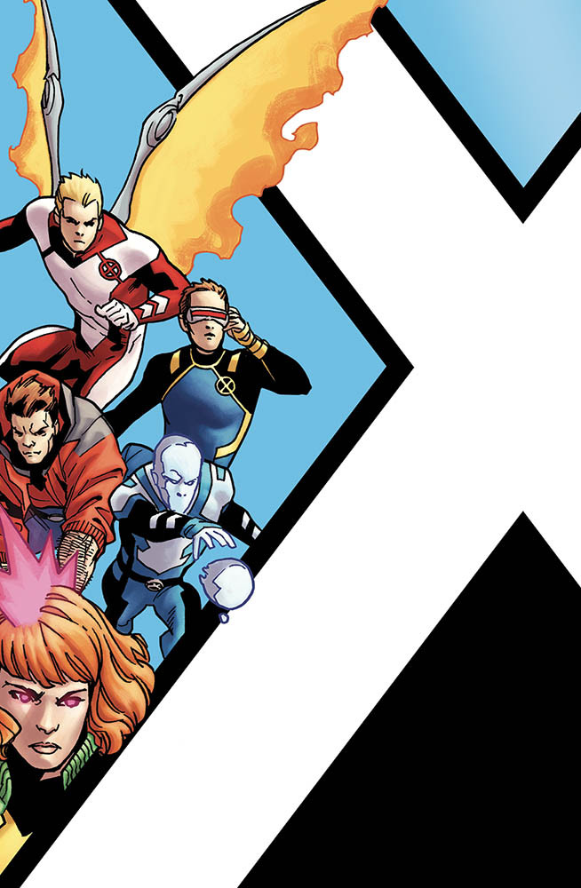 X-Men Blu 1 Variant Cornerbox I Nuovissimi X-Men 52