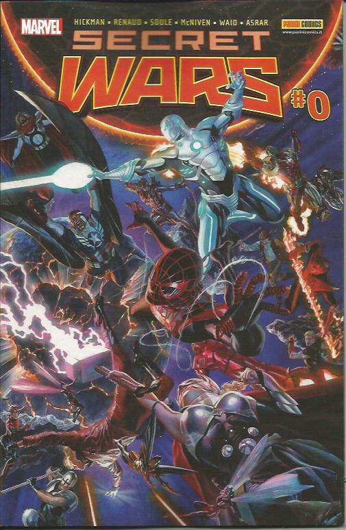 Secret Wars 0/9 - Serie Completa - sconto 30%