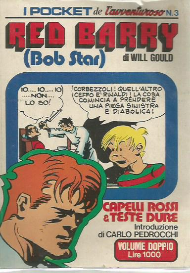 I Pocket de L'avventuroso n. 3 - Red Barry (Bob Star)