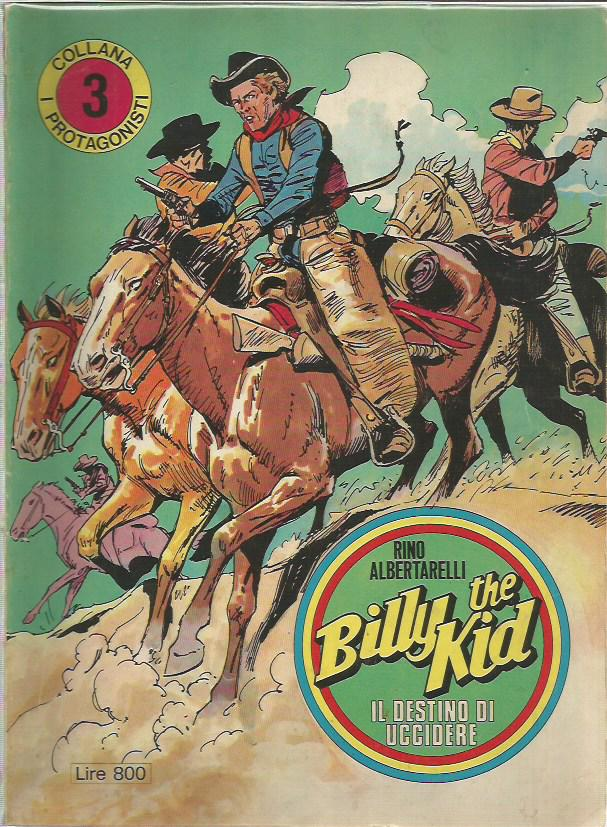 I Protagonisti n. 3 Billy the Kid