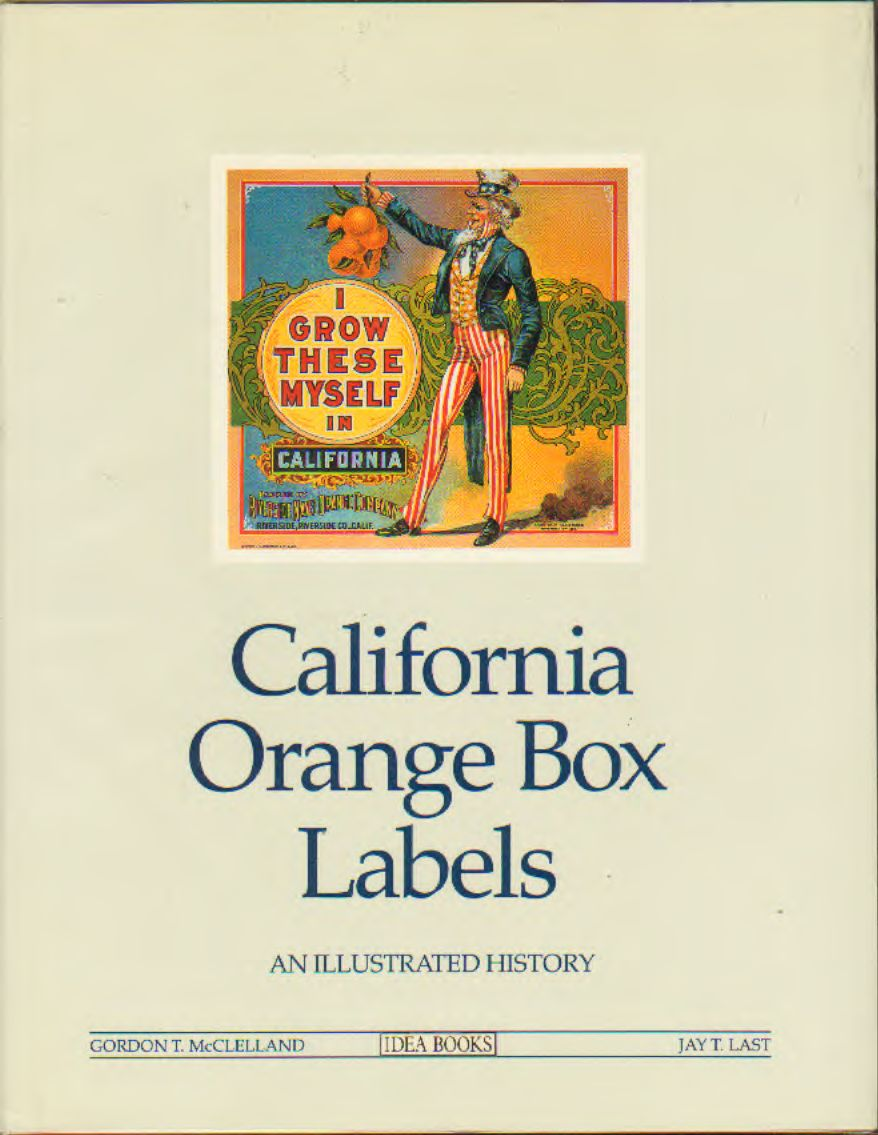 McClelland - California Orange Box Labels