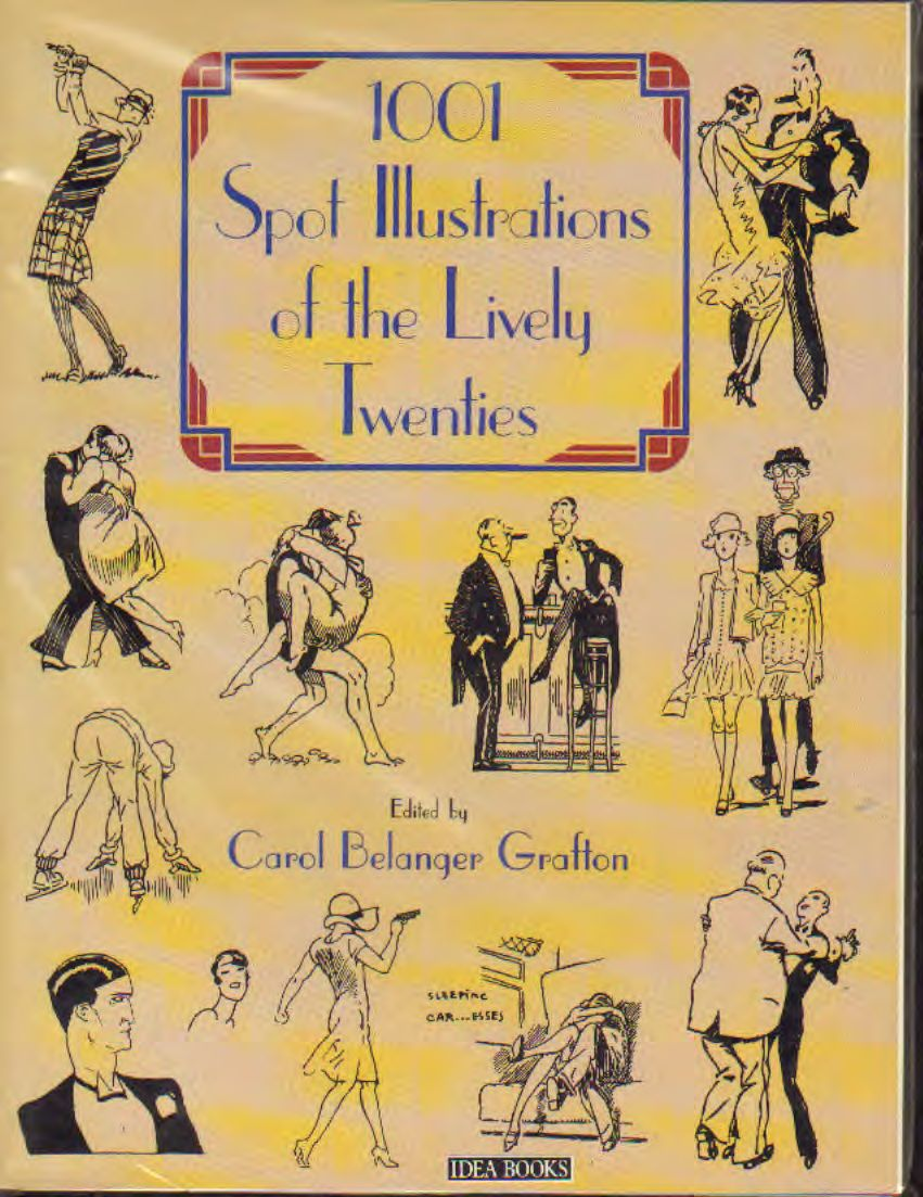 AA.VV - 1001 spot illustrations of the lively twenties