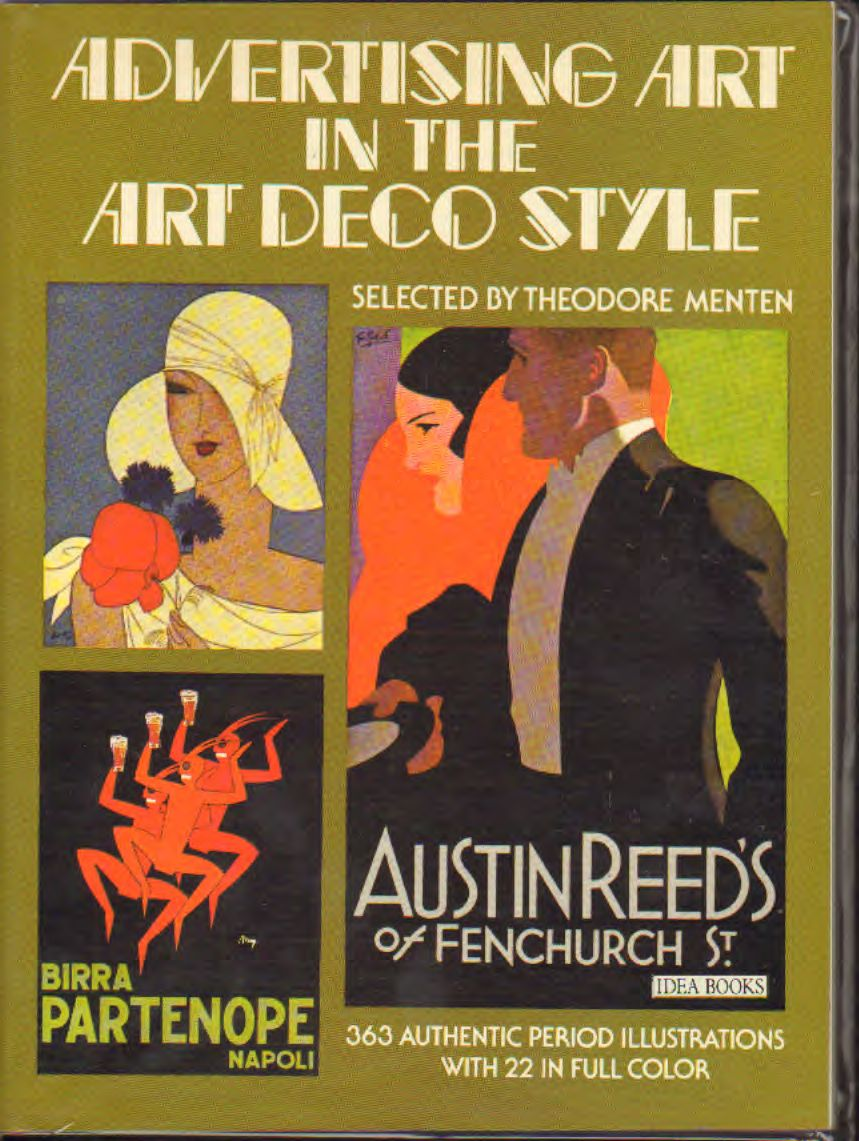 AA.VV - Advertising art in the art deco style
