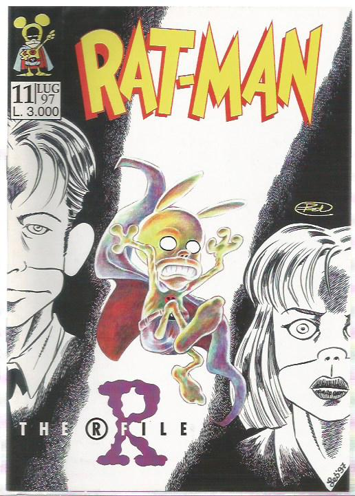 Rat-Man n.11 - The R File - 1° Edizione