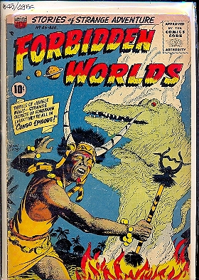 FORBIDDEN WORLDS n. 45