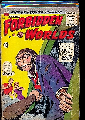 FORBIDDEN WORLDS n. 80
