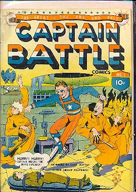 CAPTAIN BATTLE n.1