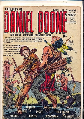 EXPLOITS OF DANIEL BOONE n.3