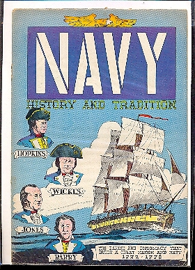 NAVY HISTORY AND TRADITION 1782-1817 - GIVEAWAY n.NN