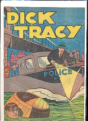 DICK TRACY POLICE - GIVEAWAY n.1