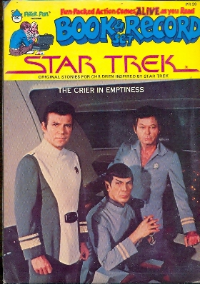 Book and records Star Trek original crier in emptiness series co