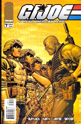 G.I.JOE A REAL AMERICAN HERO N. 7