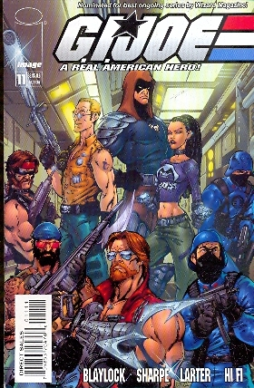 G.I.JOE A REAL AMERICAN HERO N.11