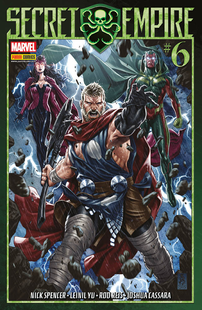 Secret Empire 6 Marvel Miniserie 194