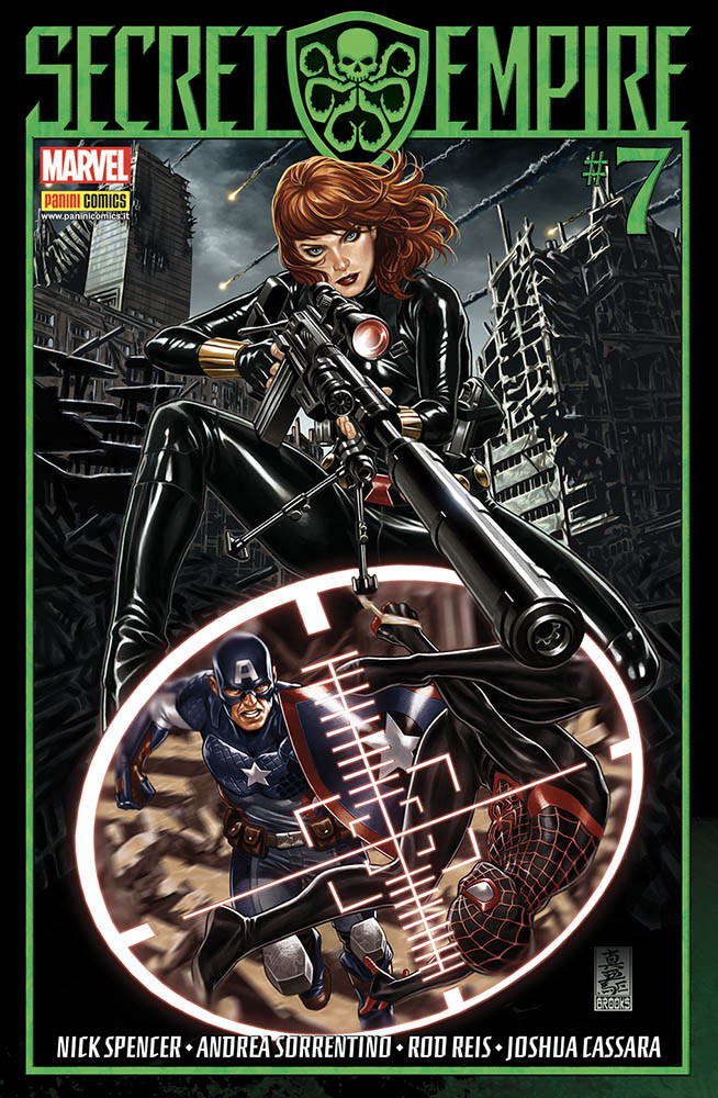 Secret Empire 7 Marvel Miniserie 195