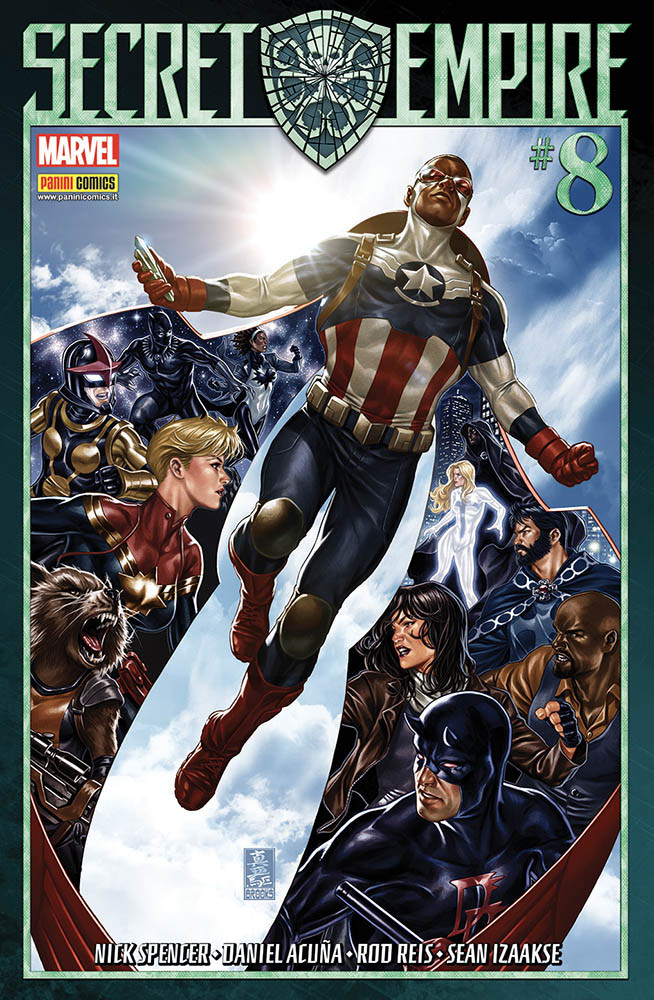 Secret Empire 8 Marvel Miniserie 8