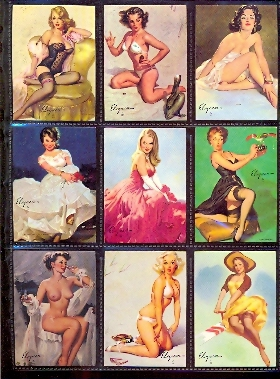 Card Set - Gil Elvren's Calendar Pin Up