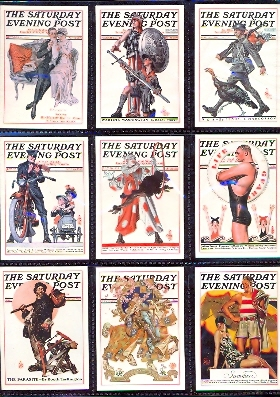 Card Set - J. C. Leyendecker - The Saturday Evening Post